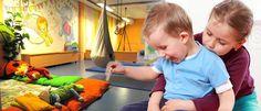 Lapset voi jättää hoitoon liikuntakeskukseen oman urheilun ajaksi (ajankäyttö, liikunta)