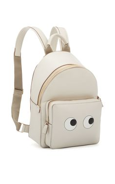 Eyes Right Mini Chalk Back Pack - Anya Hindmarch Resort 2016 - Preorder now on Moda Operandi