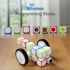 These Lego compatible blocks are an excellent way to get your kids in to programming. Simply programme and connect the blocks then use the app to control it or let the blocks do their own thing in auto mode using the inbuilt sensors. Technology Gifts, Technology Gadgets, Techie Gifts