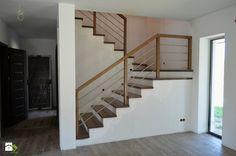 Schody Dębowe woskowane - zdjęcie od WOOD-STYLE Planning And Organizing, House Stairs, Cellar, Sweet Home, Studio, Interior Ideas, Design, Home Decor, Wood Crafts