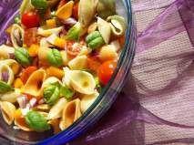 Receita Salada de massa conchiglie
