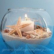 Votive Candle Ideas beach-wedding