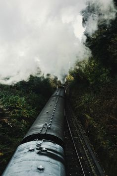 expressions-of-nature:  by Barnaby Kent Steam train from...