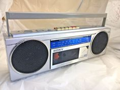 Vintage SONY BOOMBOX  Stereo Radio CFS-250  #Sony