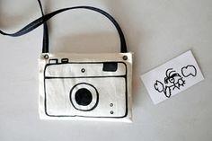 Estéfi Machado: Câmera fotográfica de tecido