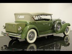 1932 Tourster 1932 Duesenberg Model J Tourster