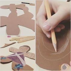 Paper Gingerbread Man