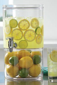 When life gives you lemons, make ridiculously fancy lemonade.