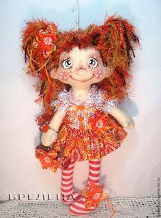 Куклы Брелены (текстильные куклы ручной работы)
