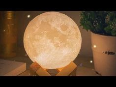 Enchanting Lunar Moon Night Light - My Metanoia Co