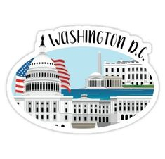 Washington DC stickers featuring millions of original designs created by independent artists. Decorate your laptops, water bottles, notebooks and windows. White or transparent. 4 sizes available.