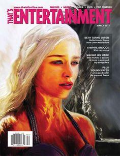 Daenerys :: Game of Thrones Illustration ::Catalyst Creations :: Portfolio :: Graphic Design :: Web Design
