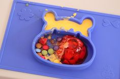 Grippo 2-in-1 Silicone Placemat and Plate in Blue T Baby, Baby Safe, Happy Baby, Messy Play, Wet Wipe, Baby Led Weaning, Baby Online, Free Baby Stuff, Having A Baby