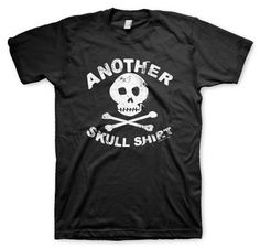 Another Skull TShirt: http://www.etsy.com/shop/apesnort