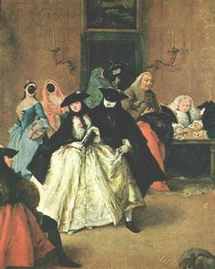 The Parlour - Pietro Longhi - WikiArt.org - encyclopedia of visual ...