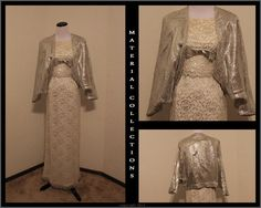 Vintage 50s formal gown Audrey Hepburn by MaterialCollections