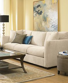 Myles Fabric Living Room Furniture - Furniture - Macy's 102 inches, $899