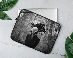 Electronics Clothing & Home Living by HelsinkiFashionVibes on Etsy Laptop Cases, Home And Living, Etsy Seller, Gothic, Electronics, Sleeve, Creative, Unique, Clothing