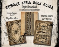 Popular items for spell book on Etsy