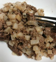 RouxBDoo's Cajun and Creole Food Blog: Mighty Meatloaf Hash