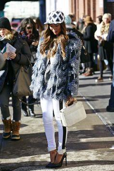 Winter Outfit Ideas From New York Fashion Week Fall 2013 Those pants!!! Love!!