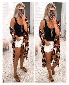 Cute Casual Outfits, Short Outfits, Spring Summer Fashion, Spring Outfits, Sandals Outfit Summer, Everyday Outfits, Fashion Outfits, Prep Fashion, Clothes For Women