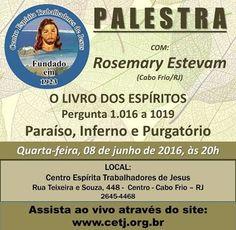 CETJ Convida para a sua Palestra Pública – Cabo Frio – RJ - http://www.agendaespiritabrasil.com.br/2016/06/08/cetj-convida-para-sua-palestra-publica-cabo-frio-rj-14/