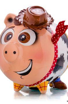 Dory, Pigs, Piggy Bank, Tigger, Objects, Diy Crafts, Wallpaper, Disney Characters, Design