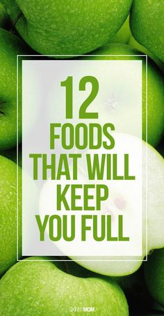 12 foods that will help you lose weight!