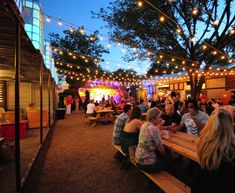 "The Foundry, Dallas. One of ""America's Best Outdoor Bars"""