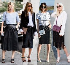 How to Wear Your Midi Skirt