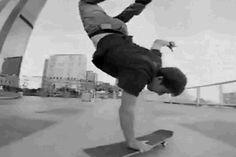 Rodney mullen: Handstand flip