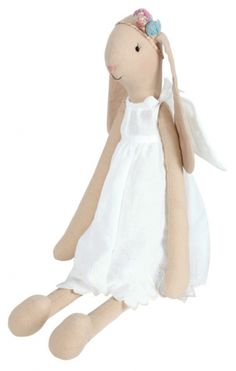I have decided that I am going to make all of CeeBella's dolls! Rabbit Toys, Bunny Rabbit, Maileg Bunny, Fabric Animals, Doll Maker, Imaginative Play, Softies, Little Ones, Kids Toys