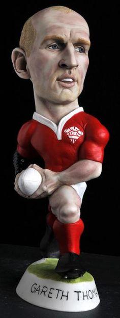 """9"""" Gareth Thomas Grogg - Wales"""
