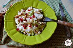 Salata de conopida cruda Fruit Salad, Potato Salad, Potatoes, Ethnic Recipes, Food, Salads, Fruit Salads, Potato, Essen