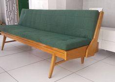 Mała 193 cm rozkładana sofa retro,vintage,kanapa, wersalka