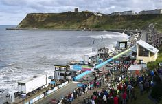 It was chilly in Scarborough - Tour de Yorkshire 2015
