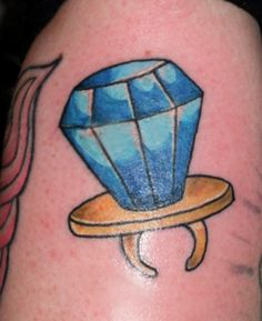 Ring Pop tattoo