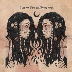 Moon In Leo, Hippie Art, Illustrations, Black Girl Magic, Black Art, Magick, Witch, Artsy, Sketches