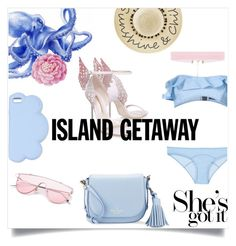 """Bikini 👙"" by e-rakosi on Polyvore featuring Mode, Betsey Johnson, Lisa Marie Fernandez, Sophia Webster, STELLA McCARTNEY, Ballard Designs und Kate Spade"