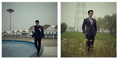 Jun S Takes to Seoul for a Serious Editorial for Designare Hommes July 2012 Issue