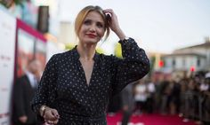 """Cast member Cameron Diaz poses at the premiere of """"Sex Tape"""" in Los Angeles, California July 10, 2014. REUTERS/Mario Anzuoni"""