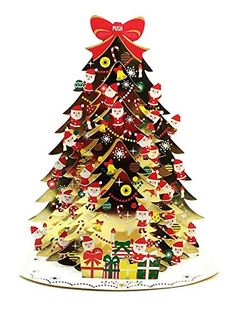 Santa Claus Golden Christmas Tree Lights & 20 Melodies Pop Up Greeting Card / Christmas Card Sanrio http://www.amazon.com/dp/B00O5HNB0A/ref=cm_sw_r_pi_dp_YYjnub1SJJXHK