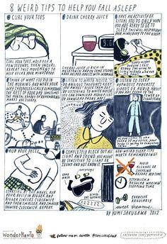 8 Weird Tips to Help You Fall Asleep «