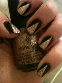 Black & Gold fancy