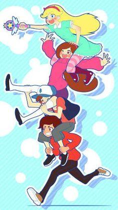 Meus desenhos favoritos juntos!!!