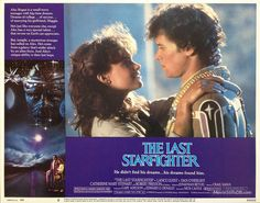The Last Starfighter - Lobby card with Catherine Mary Stewart & Lance Guest. The image measures 1280 * 1007 pixels and was added on 9 October Catherine Mary Stewart, Mickey Mouse Movies, The Last Starfighter, Outdoor Movie Nights, Art Drawings Beautiful, Nerd Love, Teenage Years, Classic Movies, Movies And Tv Shows