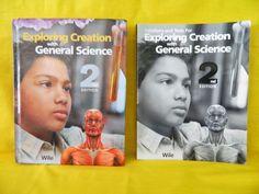 Apologia General Science Student w. Solutions Manual , Homeschool / School  #TextbookBundleKit