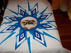 Spotted Horse Star... by EagleBear Creations (Santee Sioux)