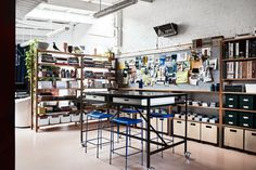 Going down the rabbit hole: Flack Studio's HQ | Indesignlive Interior Work, Interior Design Studio, Interior Architecture, Flack Studio, Timber Tiles, Working Wall, Milan Furniture, Office Fit Out, Workspace Design